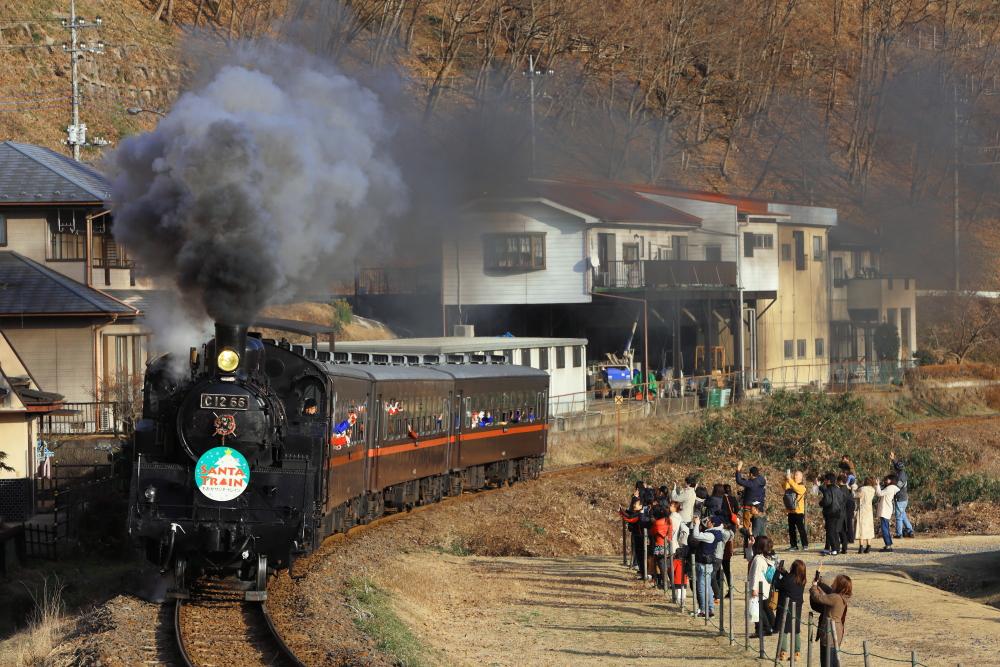 真岡鐵道のサンタ列車を撮影する【中編】