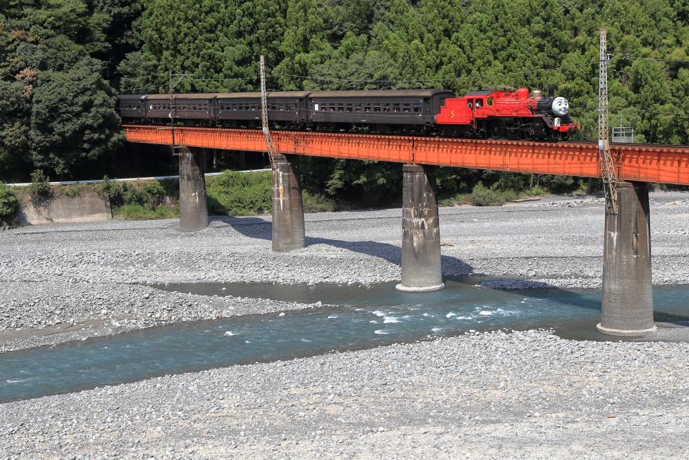 【大井川鐵道】撮影地『第三橋梁』で蒸気機関車を撮影する